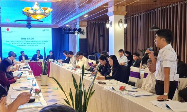 Favourable legal framework needed to facilitate drug, HIV/AIDS prevention hinh anh 1