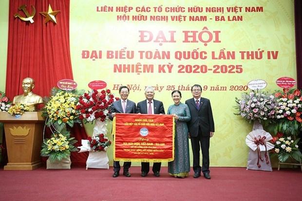Vietnam-Poland Friendship Association holds fourth congress hinh anh 1