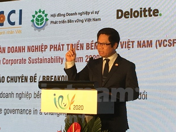 Corporate governance in a changing society hinh anh 1