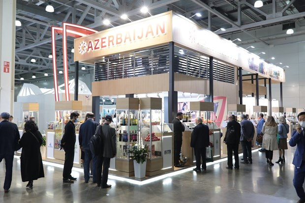 Russia importers display Vietnamese products at WorldFoor Moscow 2020 hinh anh 1