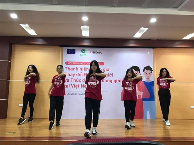 Youths participate in changing gender stereotypes, promoting gender equality hinh anh 1