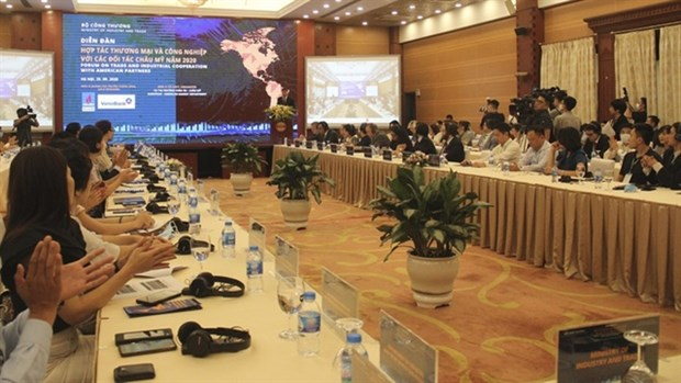 Americas among Vietnam's largest trade partners despite of COVID-19 hinh anh 1