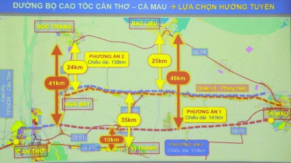 Mekong Delta provinces propose three route options for expressway hinh anh 1