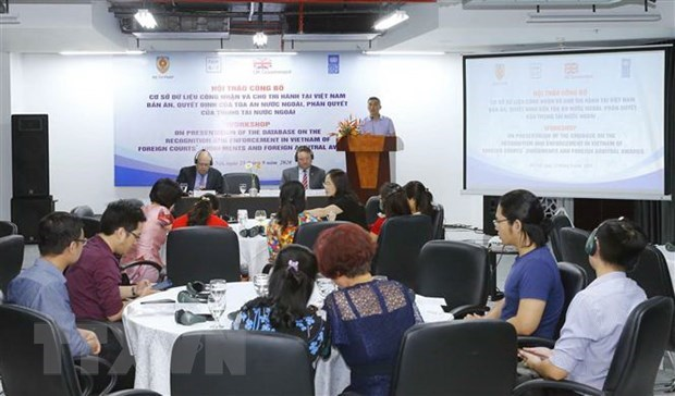 Database on recognition, enforcement of foreign courts' judgments in Vietnam released hinh anh 1