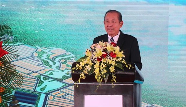 Construction of 143-million-USD industrial park begins in Binh Dinh hinh anh 1