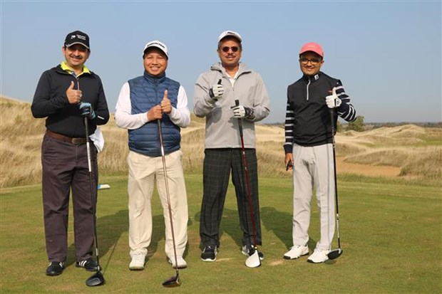 Golf tourney marks 70th anniversary of Vietnam-Russia ties hinh anh 1