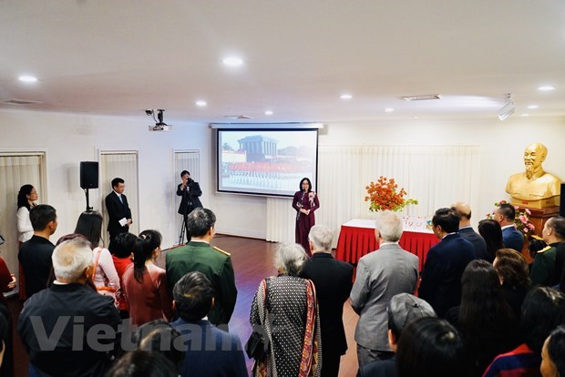 Vietnamese abroad urged to make more contributions to homeland hinh anh 2