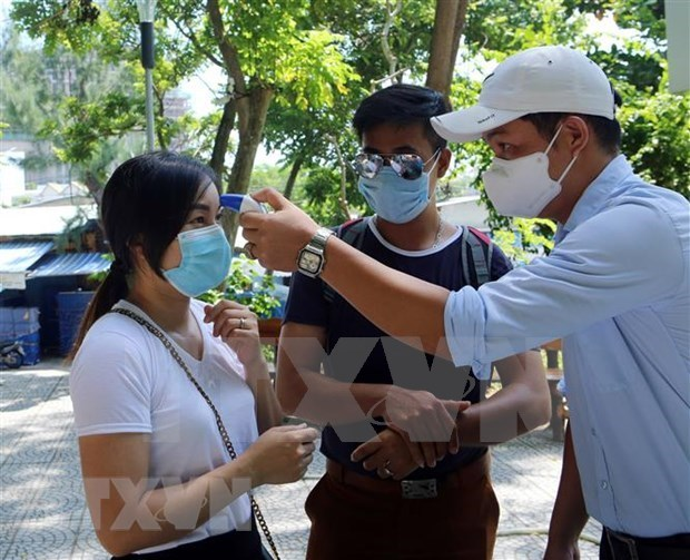Vietnam goes through 25 consecutive days without community infections hinh anh 1
