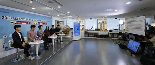 2020 ASEAN Youth Career Mentorship Programme held online hinh anh 1