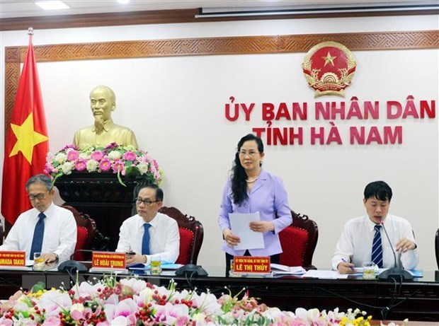 Japan praises Ha Nam province's investment potential hinh anh 1