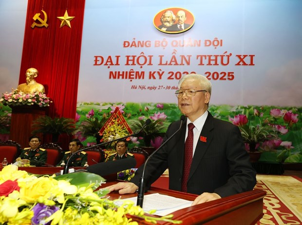 11th Party Congress of Vietnam People's Army opens hinh anh 1