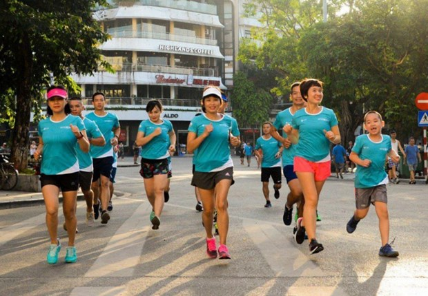 Charity run to raise funds for children to fight heart disease to be held in Hanoi hinh anh 1