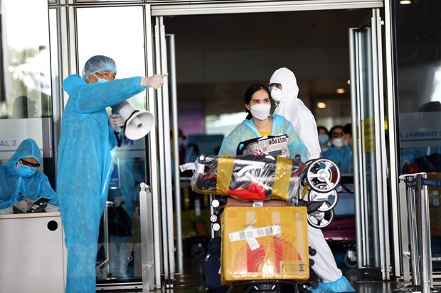 Three imported COVID-19 cases confirmed on September 28 hinh anh 1