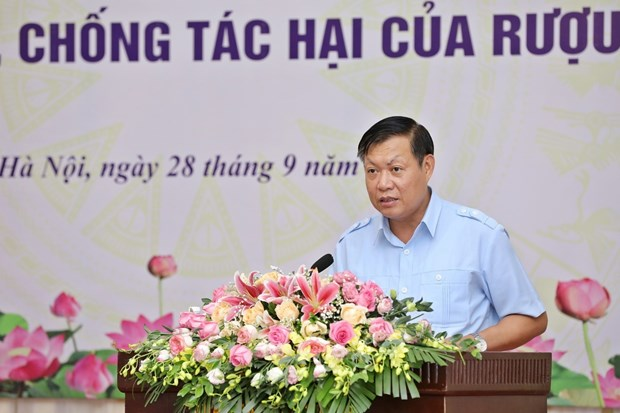 Official urges stronger actions against alcohol harms hinh anh 1