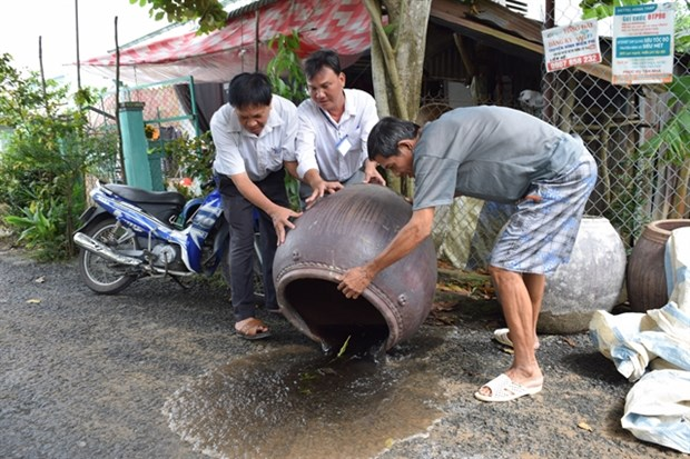 Mekong Delta takes preventive measures to prevent dengue fever outbreaks hinh anh 1
