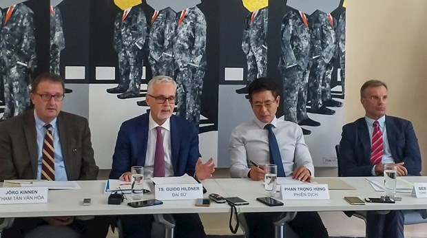 Vietnam-Germany relations develop constantly: Ambassador hinh anh 1
