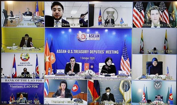 ASEAN, US finance, central bank deputies' meeting held hinh anh 1