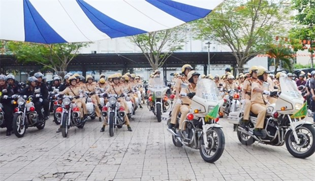 HCM City's police launch action month to ensure social order hinh anh 1