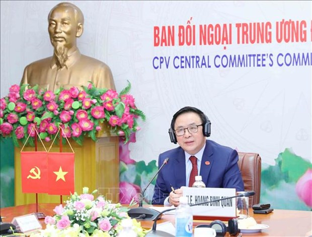 Vietnamese Party, UK's All-Party Parliamentary Group hold first dialogue hinh anh 1