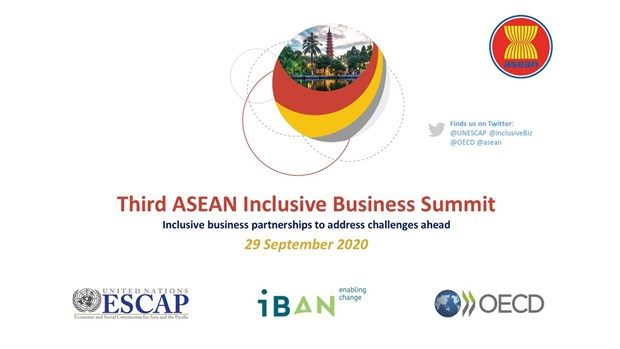 ASEAN summit discusses inclusive business hinh anh 1