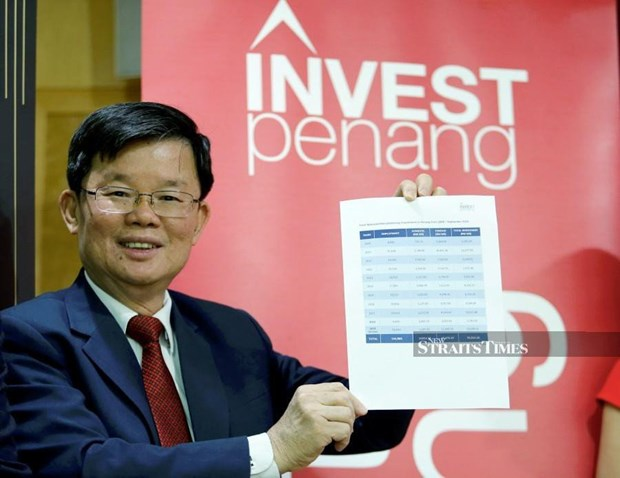Investment in manufacturing in Malaysia's Penang rises hinh anh 1