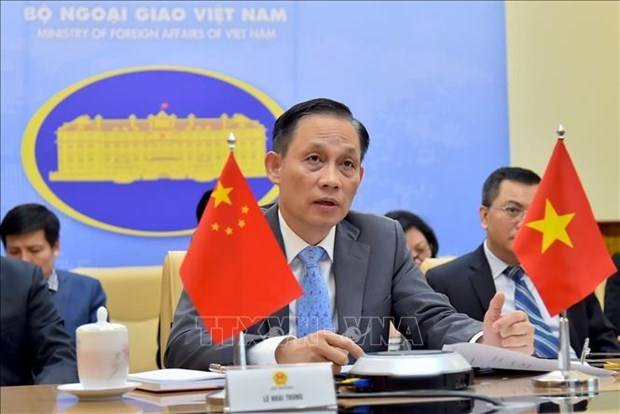 Deputy FM conveys congratulatory message on China's 71st National Day hinh anh 1