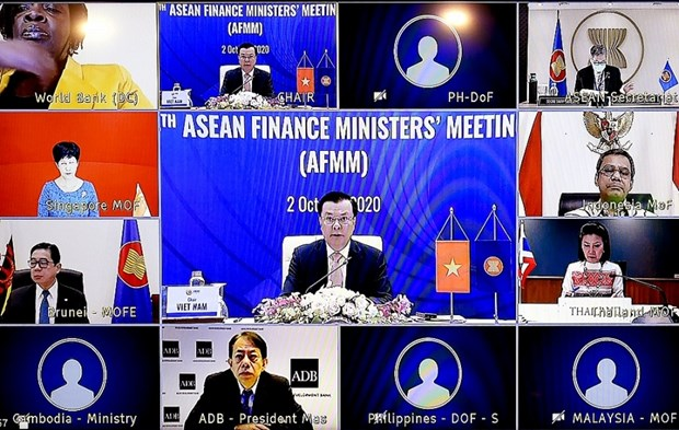 ASEAN Finance Ministers meet online hinh anh 1