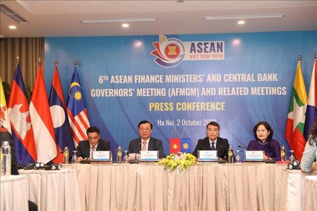 ASEAN finance ministers, central bank governors convene meeting hinh anh 1