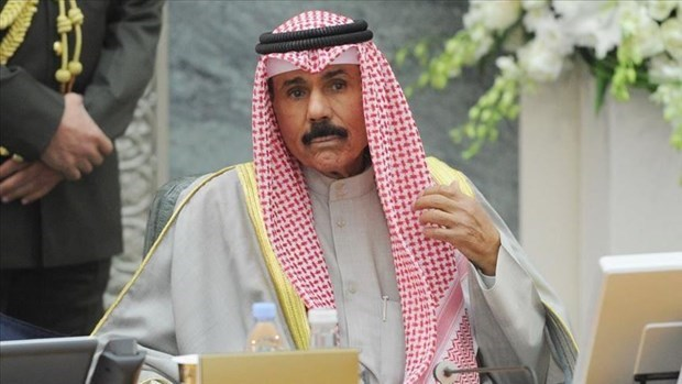 Congratulations sent to new Emir of Kuwait hinh anh 1