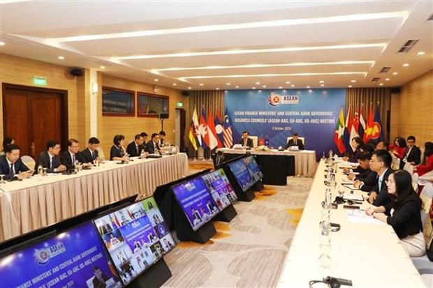 ASEAN 2020: Meeting held promoting regional sustainable finance hinh anh 1