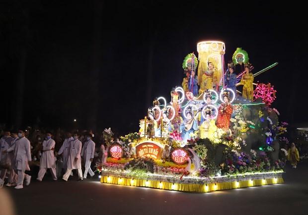Cao Dai followers celebrate biggest annual festival hinh anh 1