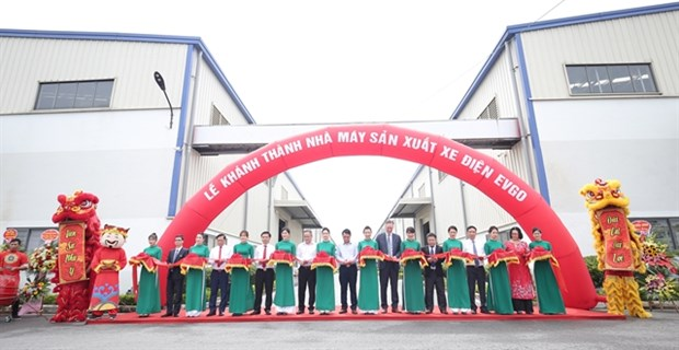 Son Ha Group inaugurates EVgo electric vehicle production plant in Bac Ninh hinh anh 1