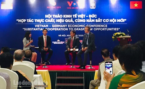 Vietnam, Germany look to boost economic cooperation hinh anh 1