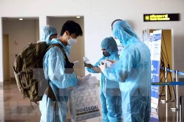 Vietnam records one more imported COVID-19 case on October 5 hinh anh 1