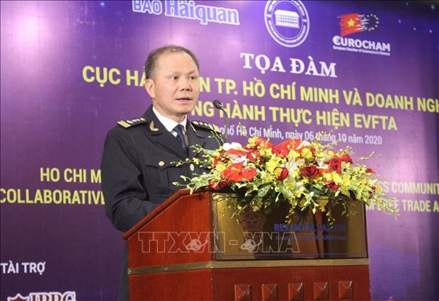 HCM City customs sector helping companies abide by EVFTA hinh anh 1