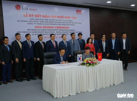 LG to set up R&D centre for vehicle component solutions in Da Nang hinh anh 1