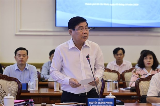 HCM City businesses resume operation as pandemic eases: city official hinh anh 1