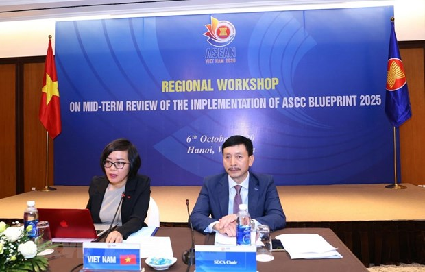 ASEAN 2020: Regional workshop reviews implementation of SOCA Blueprint hinh anh 1