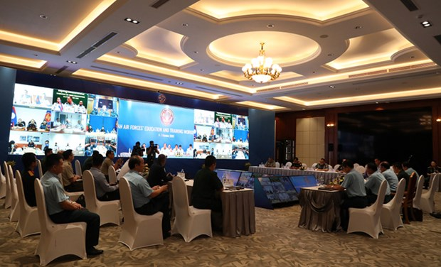 7th ASEAN Air Forces' Education and Training Working Group held virtually hinh anh 1