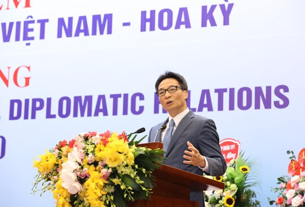 Hanoi ceremony marks 25 years of Vietnam-US relations hinh anh 1