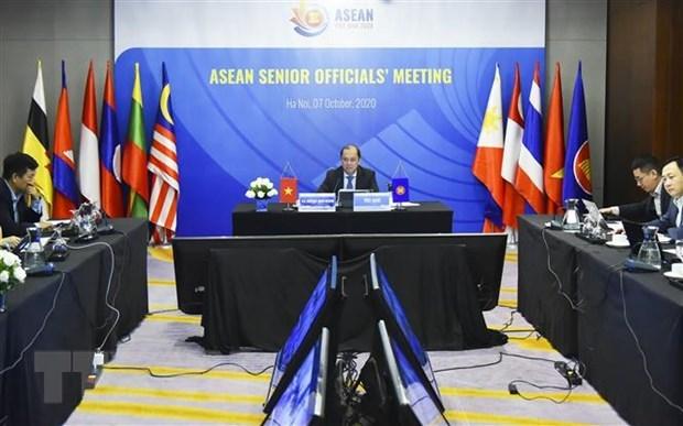ASEAN Senior Officials' Meeting underway hinh anh 1