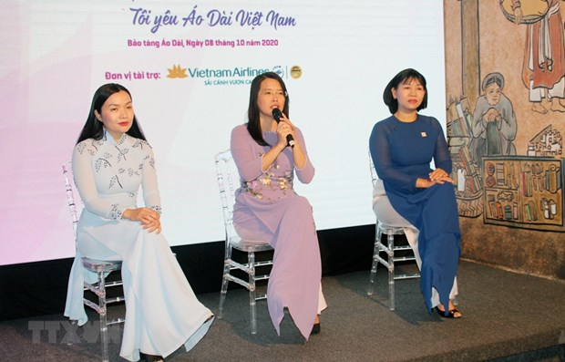 HCM City: Ao Dai Festival scheduled for October 11-12 hinh anh 1
