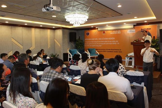 Forum seeks to improve social work in support of gender-based violence victims hinh anh 1