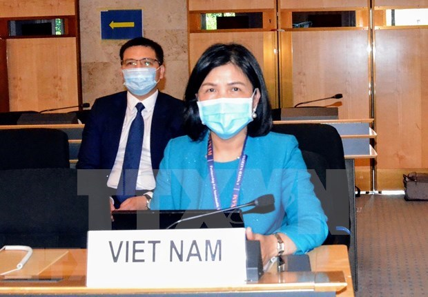 Vietnam actively engages in UNHRC's 45th regular session hinh anh 1