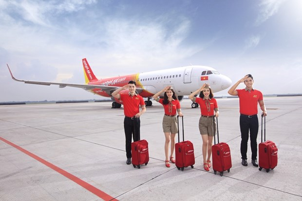 Vietjet offers 550,000 promotional tickets to celebrate Capital Liberation Day hinh anh 1