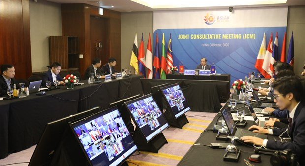 Preparations for 37th ASEAN Summit discussed at Joint Consultative Meeting hinh anh 1