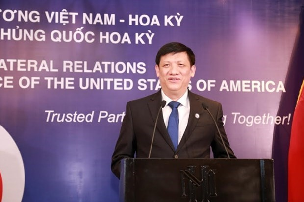 Embassy marks 244th US Independence Day, 25 years of Vietnam-US ties hinh anh 1