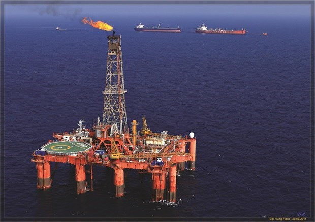 PetroVietnam's oil output reaches 8.64 million tonnes hinh anh 1