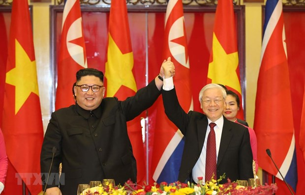 Top leader congratulates DPRK on 75th anniversary of Workers' Party hinh anh 1