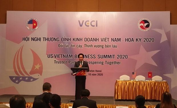 US - Vietnam Business Summit held in Hanoi hinh anh 1